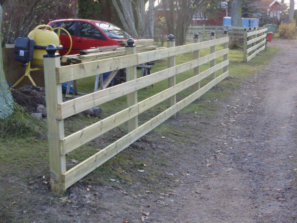 Tillverkning utav staket